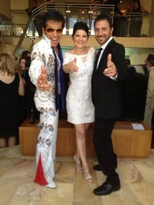 Mike and Jen just married at Caesars Palace by Elvis