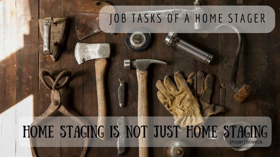 Job Tasks of a Home Stager