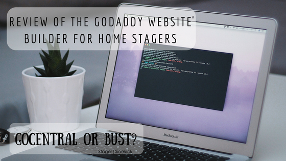 Review of the GoDaddy Website Builder for Home Stagers