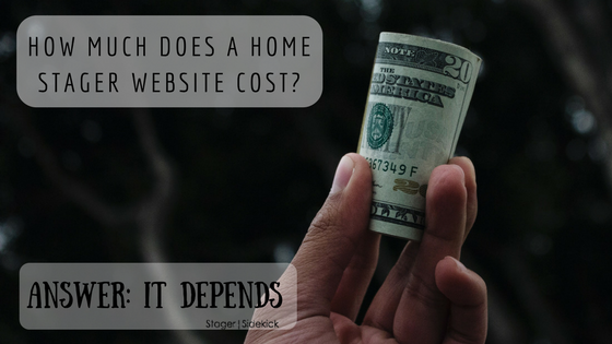 How Much Does a Home Stager Website Cost?