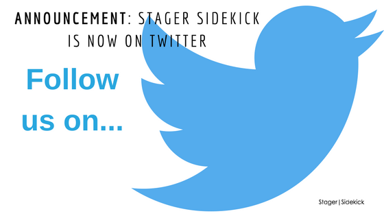 Announcement: Stager Sidekick is Now on Twitter