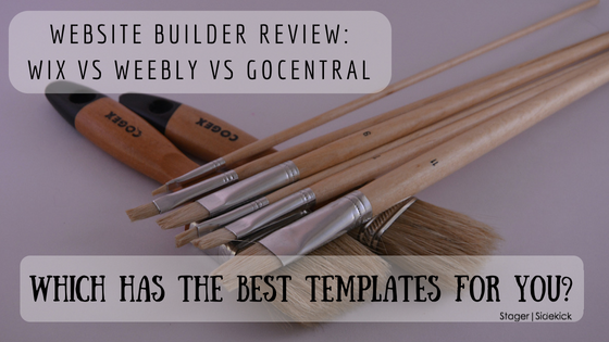 Website Builder Review: Wix vs Weebly vs GoCentral