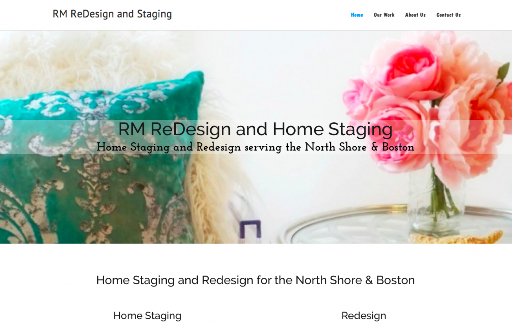 RM Redesign and Staging screenshot