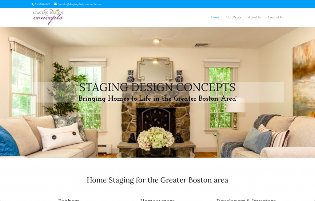 Staging Design Concepts screenshot